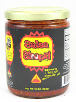 Salsa Stoopid ultra hot salsa
