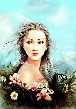 """""""Venere, che le Grazie fioriscono, dinotando la primavera."""""""