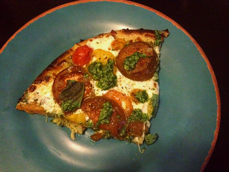 Heirloom Tomato Pizza   Hard Parade