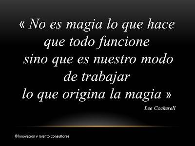 Ponga Magia en su Empresa - L. Cockerell