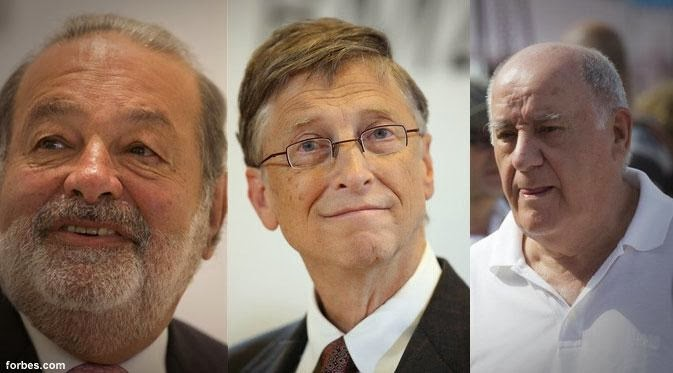 10 Orang Terkaya Dunia Terbaru 2014 versi Majalah Forbes