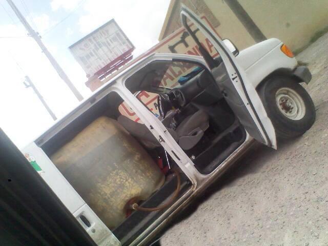Matamoros - hasta hace aprox 2 horas estaba esta camioneta con