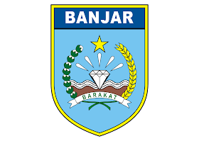 Pemkab Banjar Logo Vector download free