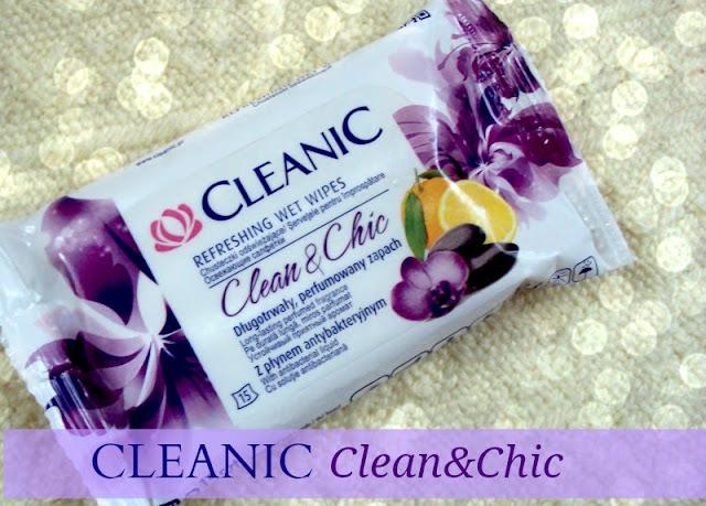 CLEANIC Clean & Chic, chusteczki odświeżające.