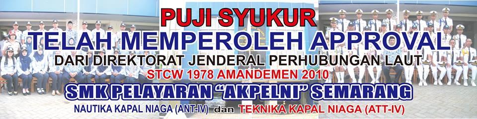 "SMK PELAYARAN ""AKPELNI"" SEMARANG"