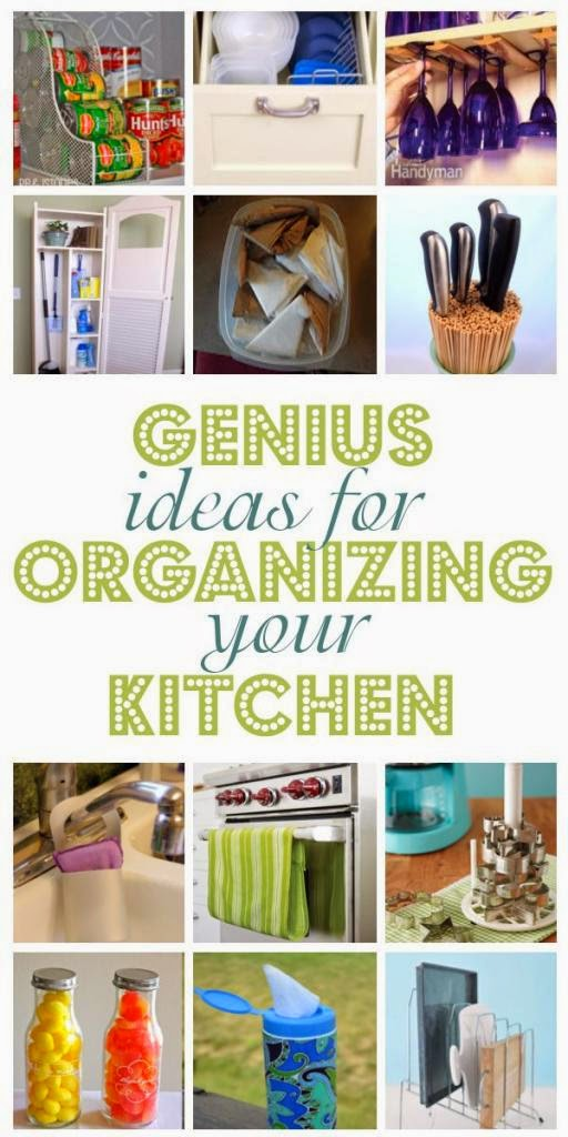Genius Ideas For Organizng Your Kitchen