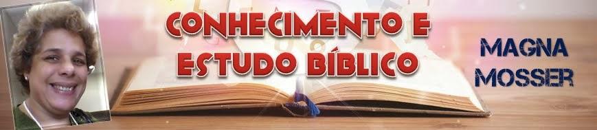 Conhecimento e Estudo Bíblico - Pra. Magna Mosser