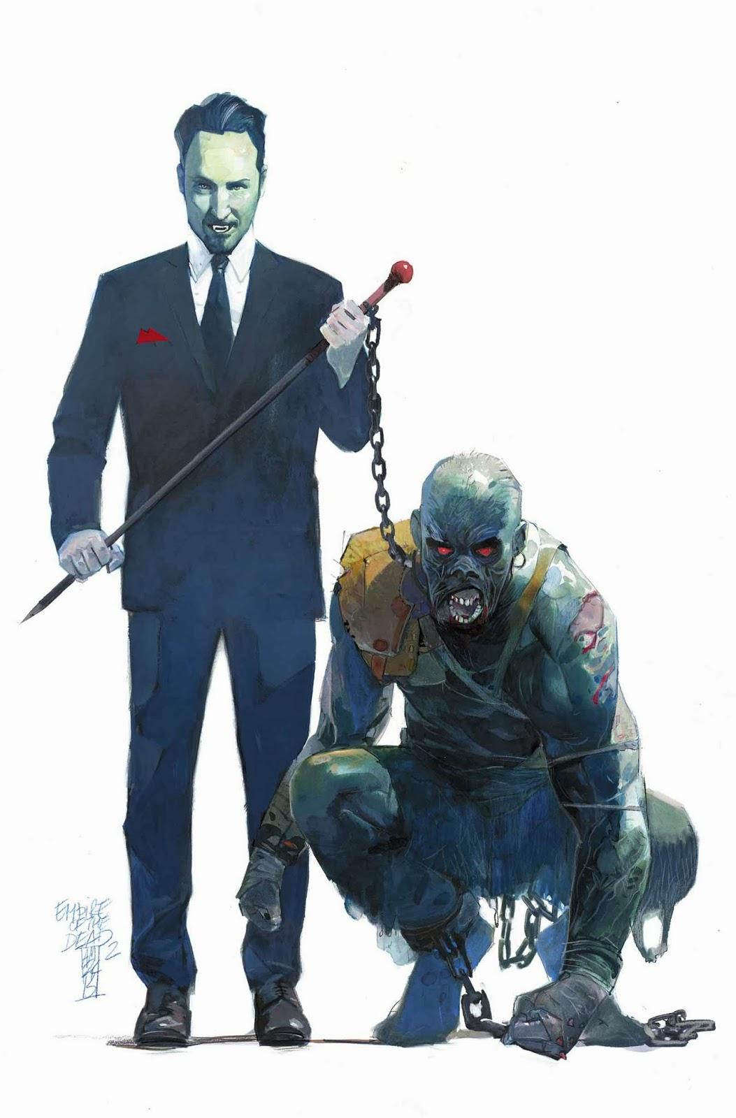 Empire of the Dead #2 cover (Alex Maleev)