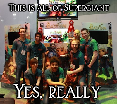 Supergiant Games Team