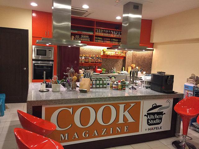Cook Magazine Studio Kitchen
