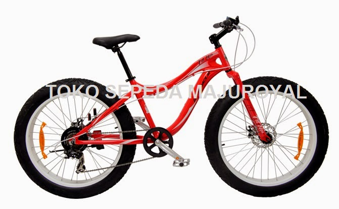 fatman bike red