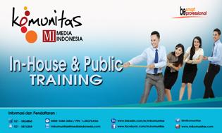 IN-HOUSE AND PUBLIC TRAINING MI. KOMUNITAS