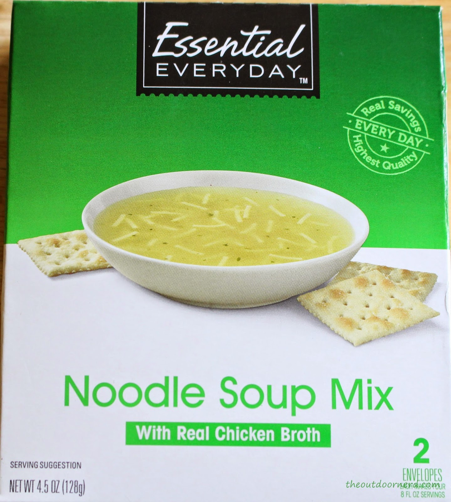 Chicken Noodle Dry Soup For Emergency Bag