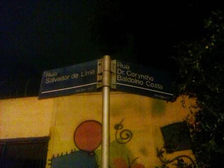 RUA Proxima ao parque São Jorge.