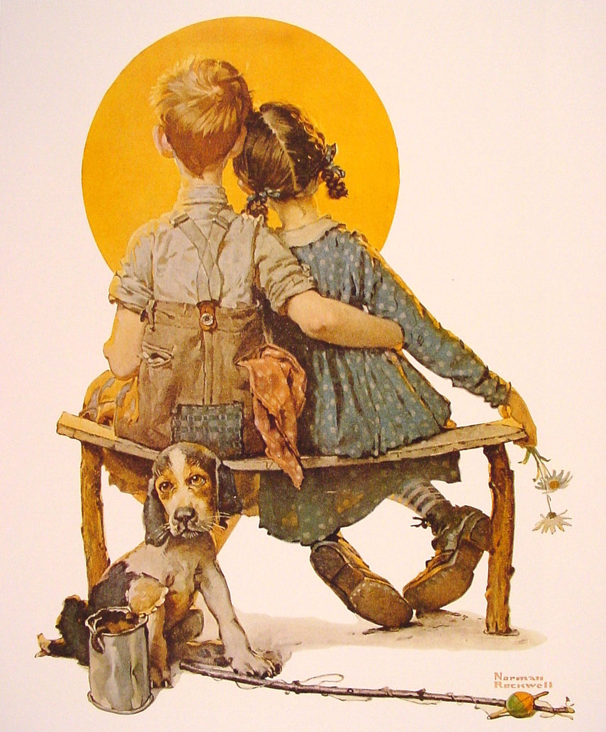 the life of norman rockwell Painter norman rockwell is associated with all things homey and heartwarming but art does not always imitate life.