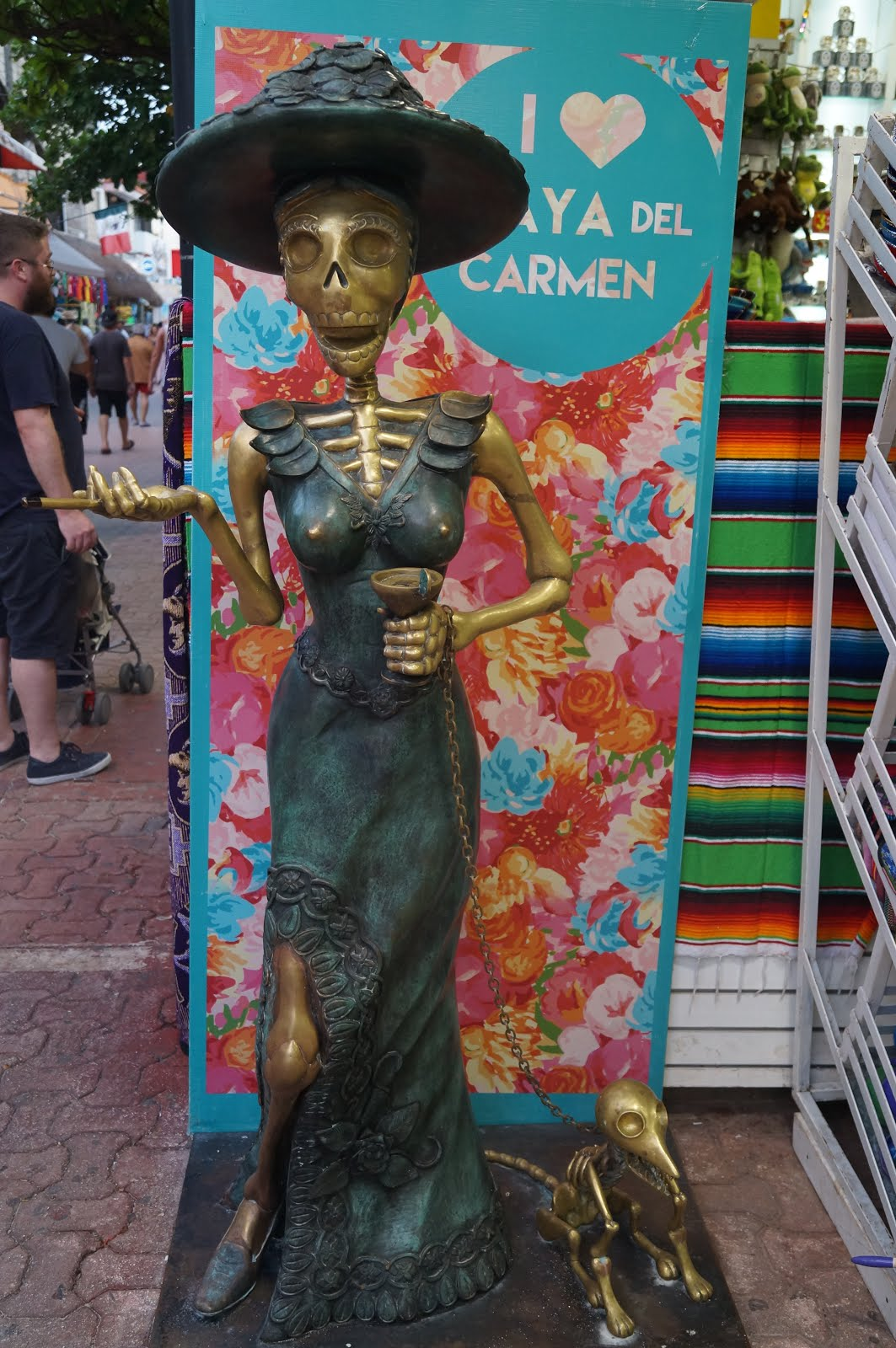 One of the famous singers visiting Playa del Carmen