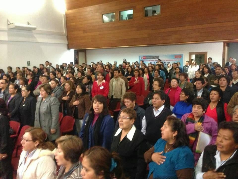 AUXILIARES DE EDUCACION DEL PERU I