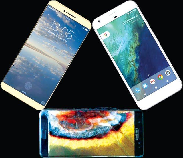 "La ""quema"" del Samsung 7"