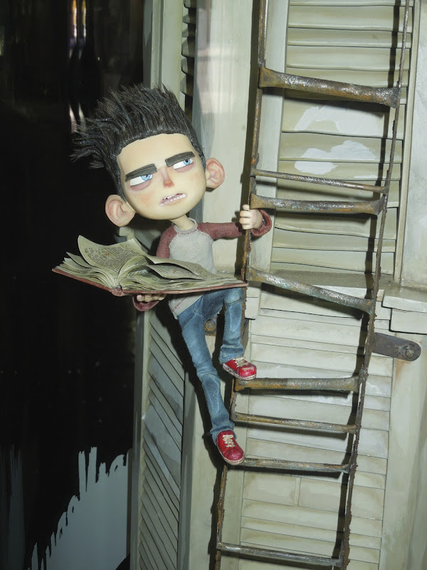 Original ParaNorman stopmotion puppet