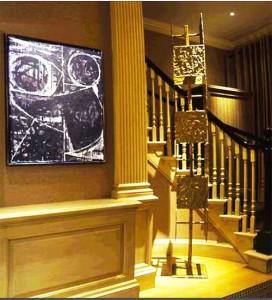 lampadari per taverne : Uso de metales en la decoraci?n interior Ideas para decorar ...