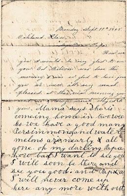 1865 letter, belletisdale.blogspot.com