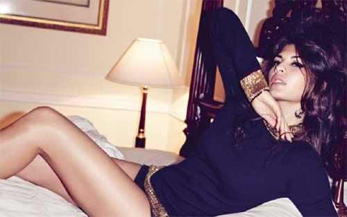 jacqueline fernandez as amy winehouse in harper bazaar - actress pics