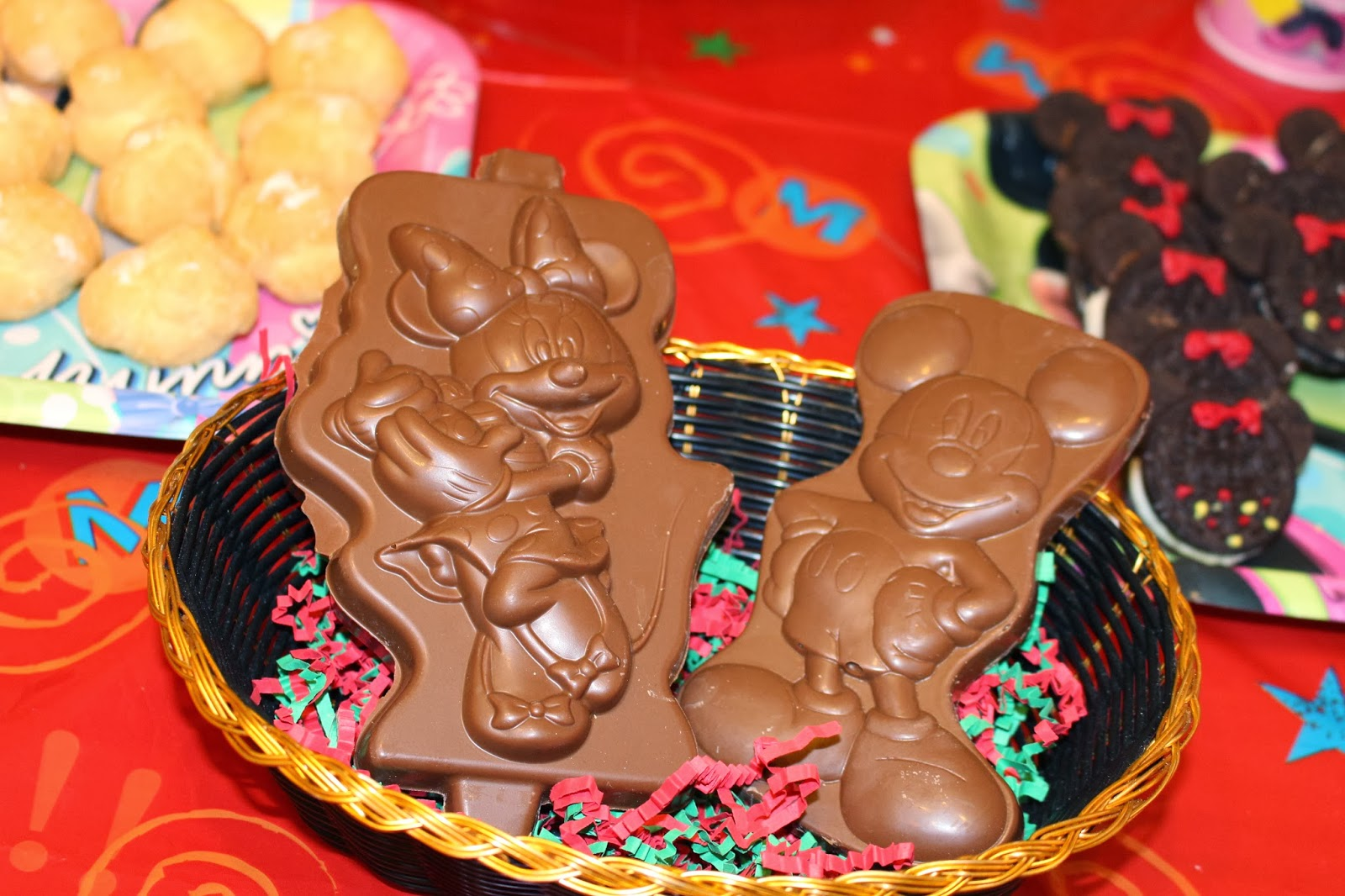 Mickey and Minnie Mouse Chocolates