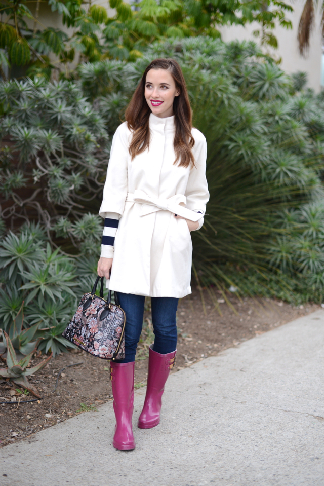 rainy day outfit via M Loves M @marmar