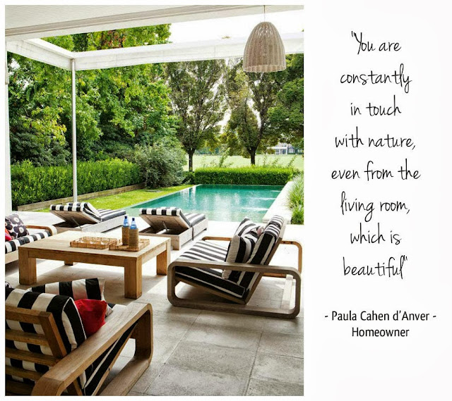 paula cahen d'anver upon complimenting his remarkable house design