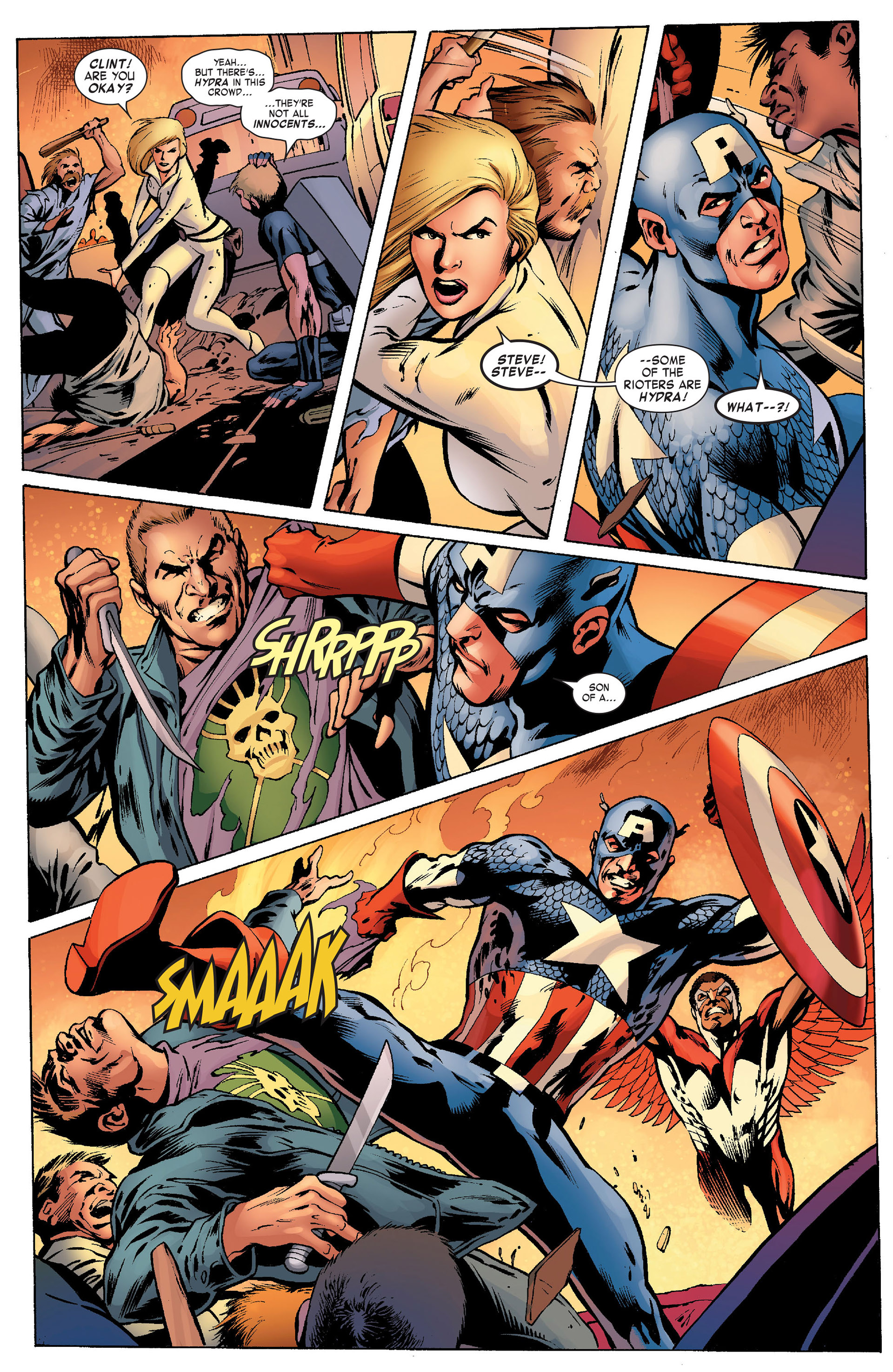 Captain America (2011) Issue #10 #10 - English 15