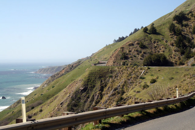 route 1 pacific coast highway jenner turns