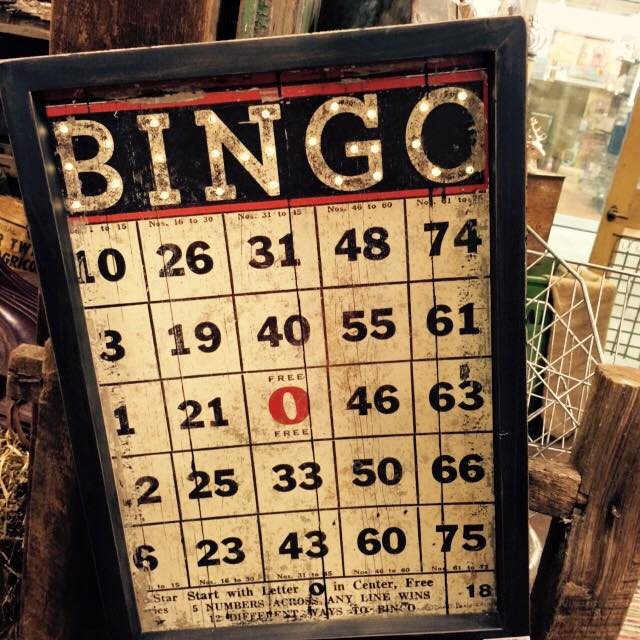 BINGO Sign by Dan DiPaolo Studios