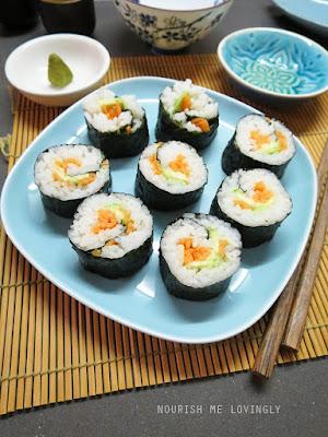 carrot_cucumber_avocado_sushi