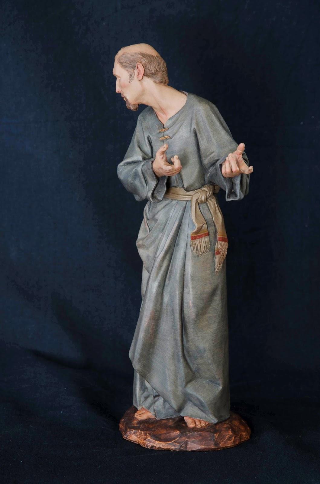 Belén presepe nativity krippe Arturo Serra escultura barro cocido 18