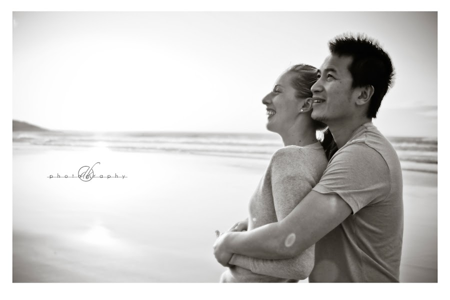DK Photography 51 Kate & Cong's Engagement Shoot on Llandudno Beach  Cape Town Wedding photographer