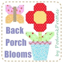 FREE Back Porch Blooms Quilt along