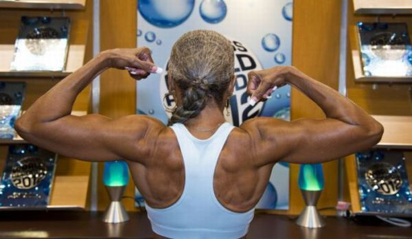 oldest+female+bodybuilder+in+history2 Oldest female bodybuilder in history (10 pics + video)