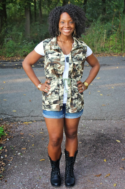 Camouflage & Combat Boots