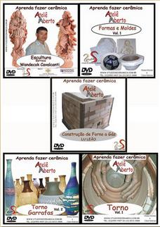 SELEÇÃO COM 5 DVDs de Cerâmica