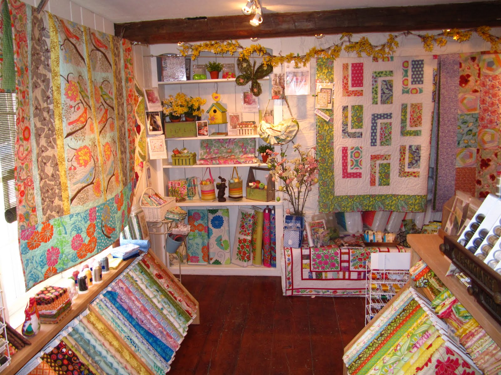 FreeSpirit Fabric: On The Road, Quilt Shops for your Travel Plans : quilt shops in vermont - Adamdwight.com
