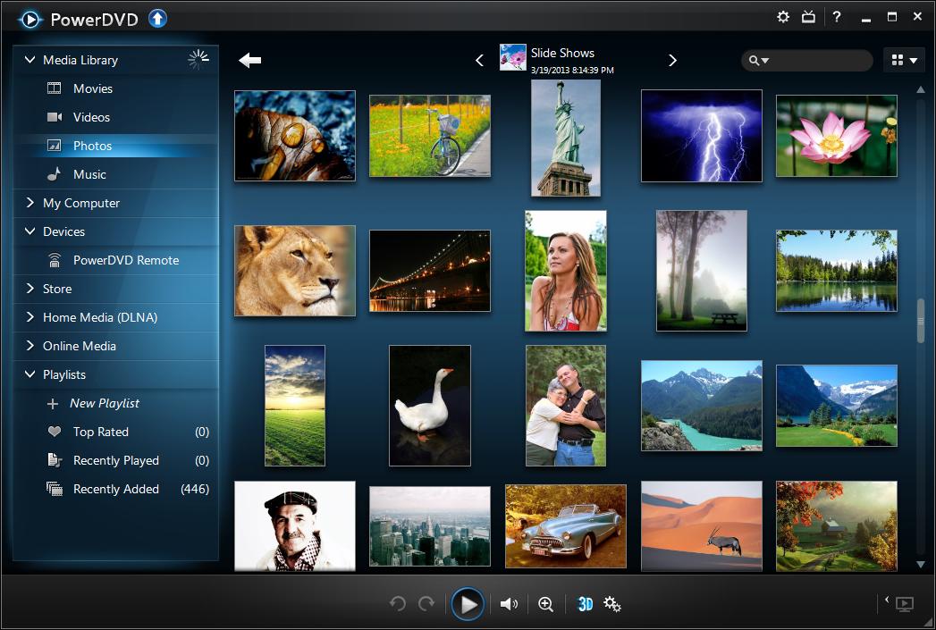 Cyberlink PowerDVD 13 Ultra � Bluray TrueTheater HD Technology ...