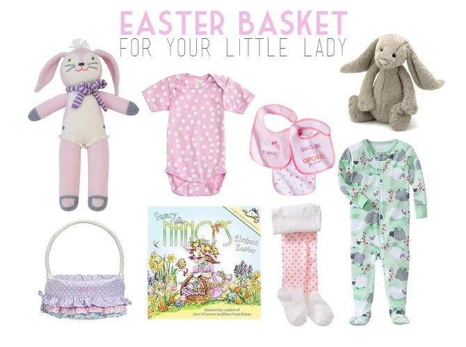 Easter basket goodies garvinandco girls easter basket ideas negle Image collections