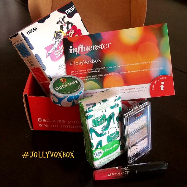 #JollyVoxBox by @InfluensterVox