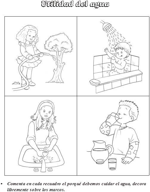 Utilidad del agua ~ Maestras Jardineras
