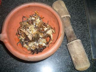 Cách nấu canh riêu cua thơm ngon nức mùi2