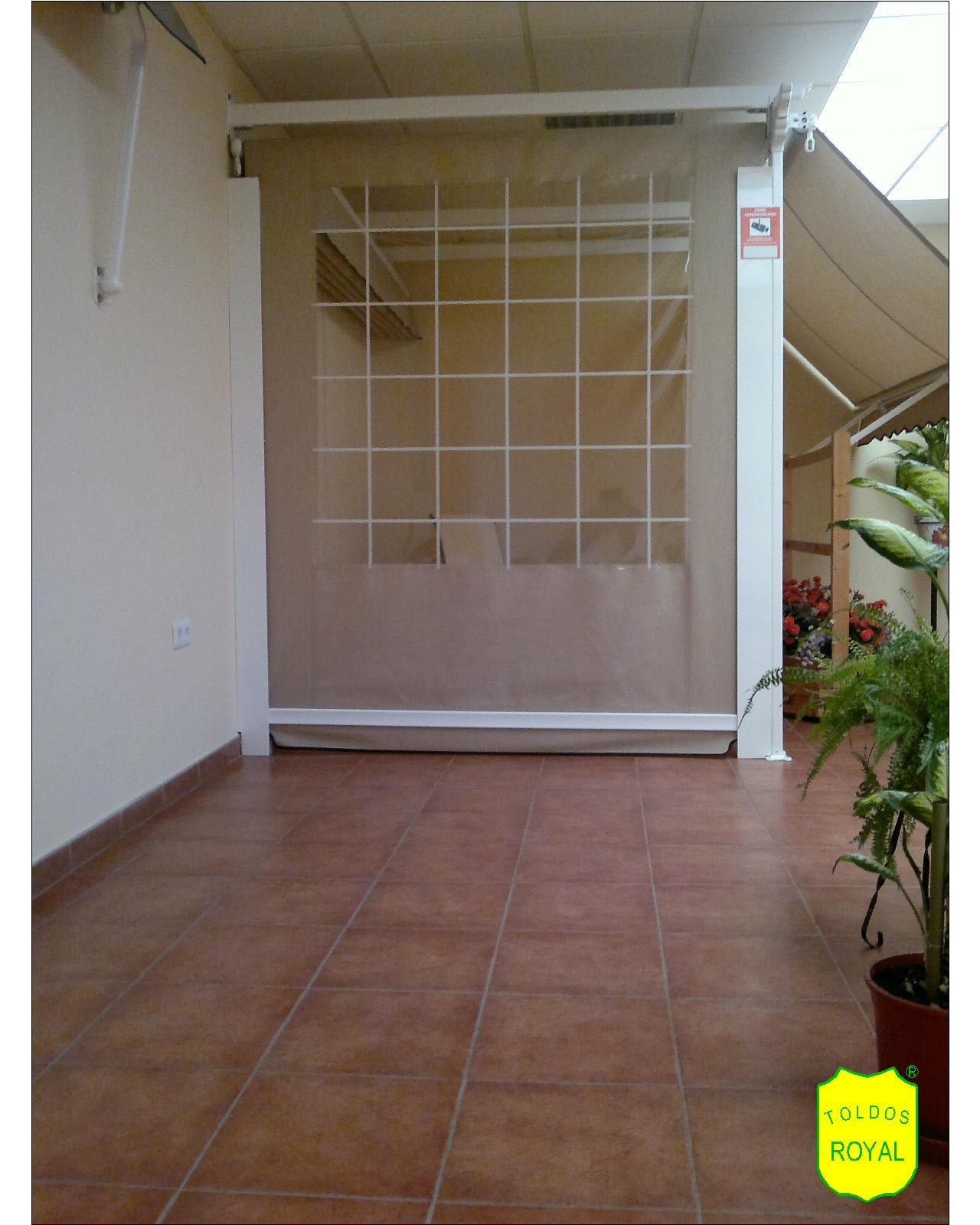 Estructura de toldos modelo t nel plegable toldos for Estructura de toldo