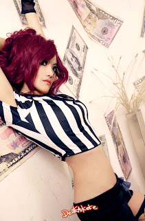 Red Card Katarina Referee Cosplay
