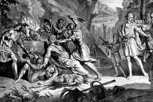 Le due chiavi, una leggenda fiamminga a puntate. Baal