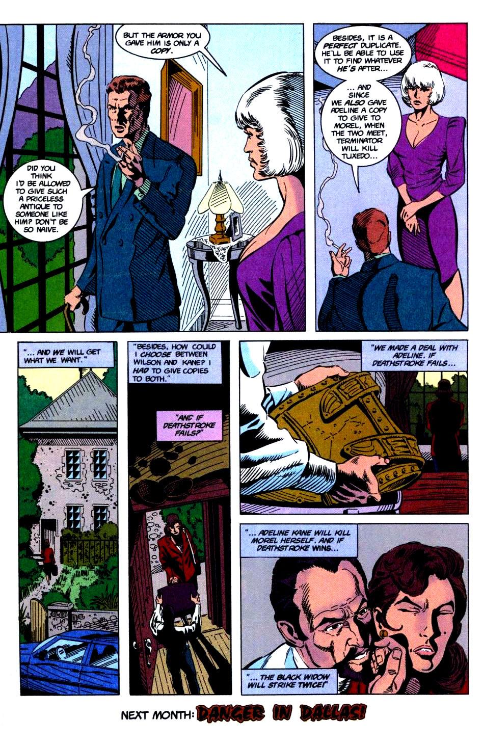 Deathstroke (1991) Issue #32 #37 - English 25