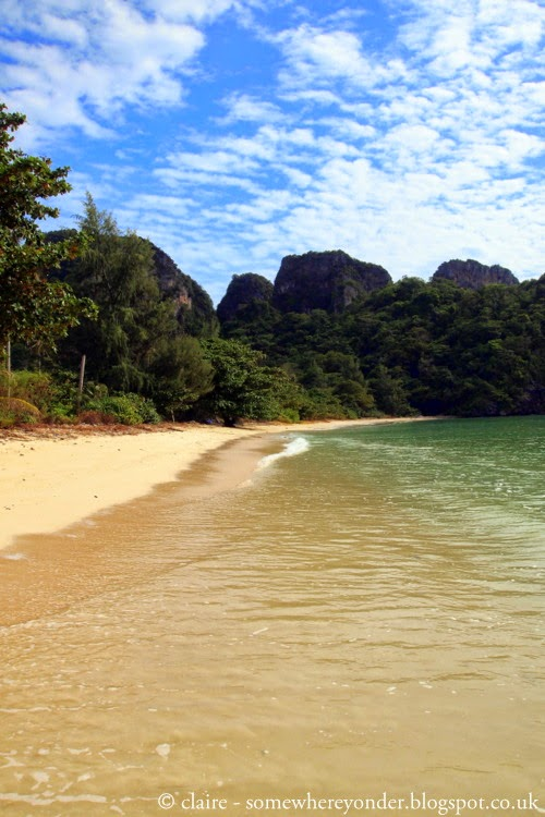 Private beach - Ko Phi Phi, Thailand